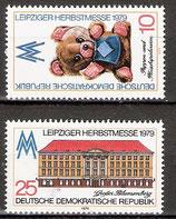 2452-2453 postfrisch (DDR)