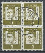 BERL 200 gestempelt Viererblock