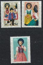 684-686 postfrisch (LIE)
