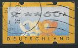 BRD-ATM 3.2 - 60 gestempelt