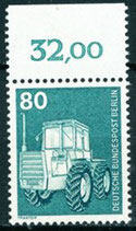 BERL 501 postfrisch mit Bogenrand oben (RWZ 32,00)