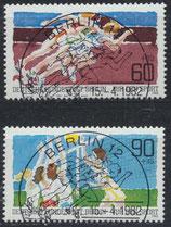 BERL 664-665 gestempelt