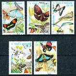 1143-1147 gestempelt (ST-Schmetterlinge)