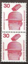 BRD 698 A senkrechtes Paar postfrisch