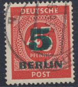 BERL 64 gestempelt