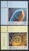 BRD 3192-3193 postfrisch mit Eckrand links oben