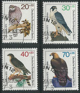 BERL 442-445 gestempelt