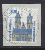 BRD 1665 gestempelt auf Briefstück