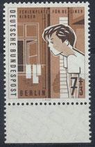 BERL 193 postfrisch mit Bogenrand unten