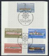 BERL 483-487  mit Ersttagssonderstempel