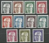 635-645  postfrisch  (BRD)