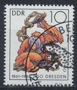 DDR 3019 philat. Stempel