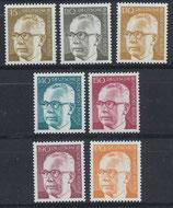 BERL 427-433 postfrisch
