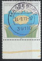 BRD 2335 gestempelt mit Bogenrand unten
