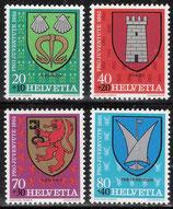 CH 1210-1213 postfrisch