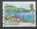 GB-GUE 329  gestempelt