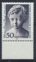 BERL 541 postfrisch mit Bogenrand oben