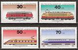 836-839  postfrisch  (BRD)