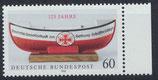 BRD 1465 postfrisch mit Bogenrand rechts