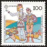 1609 / DE1510-002 postfrisch (Plattenfehler DE)