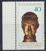 BRD 933 postfrisch mit Bogenrand links