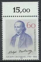 879 postfrisch Bogenrand oben (RWZ 15,00) (BERL)