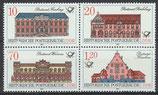 3067-3070 postfrisch Viererblock (DDR)