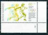 BRD 1208 postfrisch Eckrand rechts unten mit Formnummer 1