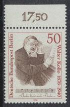BERL 561 postfrisch mit Bogenrand oben