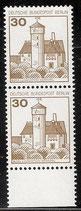 534 postfrisch senkrechtes Paar  (BERL)