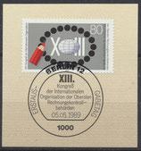 843  mit Ersttagssonderstempel (BERL)