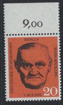 BERL 197 postfrisch mit Bogenrand oben