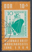 DDR 1056  philat. Stempel