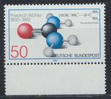 BRD 1148 postfrisch mit Bogenrand unten