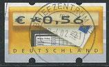 BRD-ATM 5 - 56 gestempelt