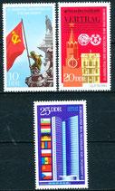 DDR 1569-1571 postfrisch