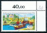 1223 postfrisch mit Eckrand rechts oben (BRD)