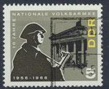 DDR 1161  philat. Stempel