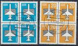 DDR 2831-2832  philat. Stempel Viererblock