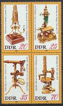 2534-2537 postfrisch Viererblock (DDR)