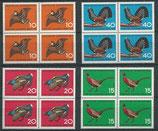 BRD 467-468 postfrisch Viererblocksatz