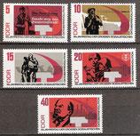 1312A-1316A postfrisch (DDR)