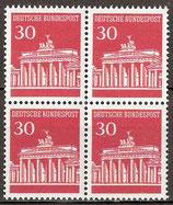 BRD 508 postfrisch Viererblock
