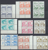 BERL 532-540 postfrisch Viererblocksatz