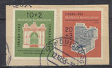 BRD 171-172 gestempelt auf Briefstück