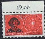 BRD 758 postfrisch mit Bogenrand oben