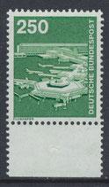 BRD 1137 postfrisch mit Bogenrand unten