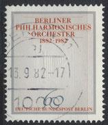 BERL 666 gestempelt
