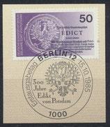BERL 743  mit Ersttagsonderstempel