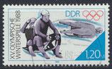 DDR 1988 gestempelt